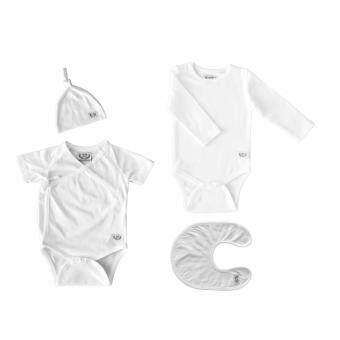 ชุดเซ็ทเด็กอ่อน สีขาวบริสุทธิ์ ออแกนิคธรรมชาติ 100%