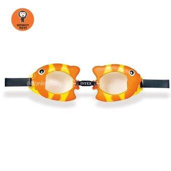 แว่นตาดำน้ำเด็กรูปปลาทอง Golden Fish Goggles by INTEX