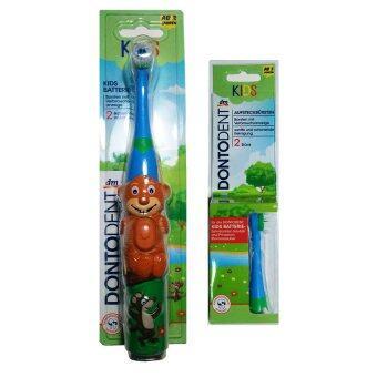 Dontodent แปรงสีฟันไฟฟ้า-ลายหมี Saubär (สำหรับเด็กตั้งแต่ 3 ขวบขึ้นไป)
