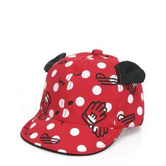 Harga Bear Fashion Newborn Lovely Baby Girls Boys Hats Baseball Caps - intl
