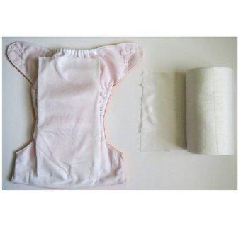 BABYKIDS95 กระดาษออร์แกนิกส์ เยื่อไผ่ สำหรับรองกางเกงผ้าอ้อม 2 ม้วน (image 1)