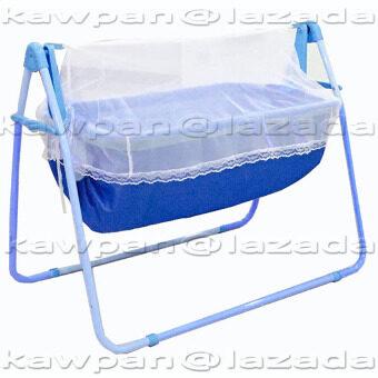 K.baby เปลไกว รุ่น C-013 + มุ้งกันยุงและแมลง - สีฟ้า
