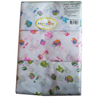 Baby Home ผ้าอ้อม ผ้าสาลู 24x24 นิ้ว แพ็ค 12 ผืน