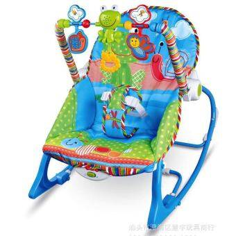 Central Home and Kitchen เปลโยก-สั่น Infant-to-Toddler Rocker (สีฟ้า)