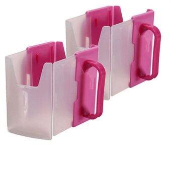 Kidsmile กล่องกันบีบนม สุดคุ้ม 2 อัน(สีชมพู)