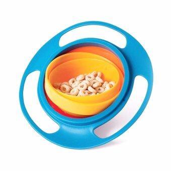 KiddyLucky Gyro Bowl ชามขนมหมุนได้ 360 องศา