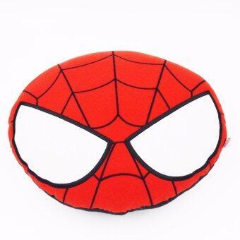 Marvel หมอนอิงหน้า Spider Man (สีแดง)