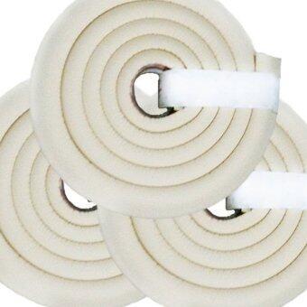 MoMoLand โฟมยางกันกระแทกสำหรับเด็ก ความยาว 2 เมตร Soft Edge Cushion Strip รุ่น FKT-3101-CREAM (ชุดเชต 3 ม้วน)