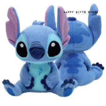 Disney ตุ๊กตา สติช Stitch ท่านั่ง 10นิ้ว (สีน้ำเงิน)