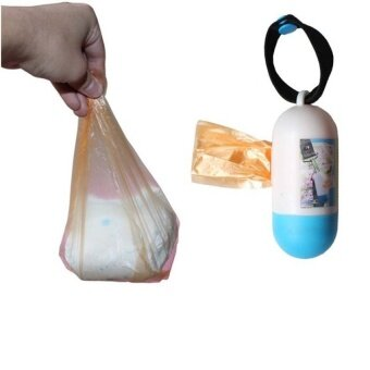 Harga Diaper Sacks Travel Nappy Bags Baby Diaper Nappy Disposable One-time Use Rubbish Bag Stroller Accessories - intl