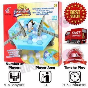 Penguin Trap เกมเพนกวินทุบน้ำแข็ง เกมส์เพนกวิน ของเล่นเด็ก