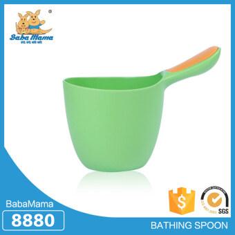 Babamama ขันตักน้ำสำหรับเด็กพลาสติก รุ่น 8880 สีเขียว