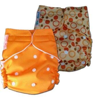 PalmandPond กางเกงผ้าอ้อมกันน้ำ รุ่น One Size เอวเทป แพ็ค 2 รุ่นที่ 55