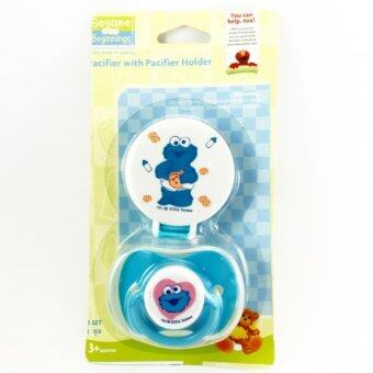 Litty Baby Pacifier with Pacifier Holder จุกนมหลอก (Blue)