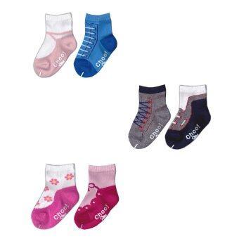 Dsox ถุงเท้าแฟชั่นสำหรับเด็ก 6-12 เดือน แพ็ค 6 คู่
