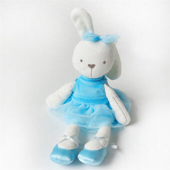 Harga HengSong Rabbit Doll Hold Baby Comfort Baby To Accompany Sleep Plush Toys Blue