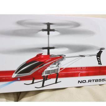 Durable King Helicopter RT8553 3.5ch 2.4Ghz เฮลิคอปเตอร์บังคับวิทยุใบพัดคู่ มีระบบ Gyro ทนต่อแรงกระแทก เหมาะสำหรับเล่นใน/นอกบ้าน