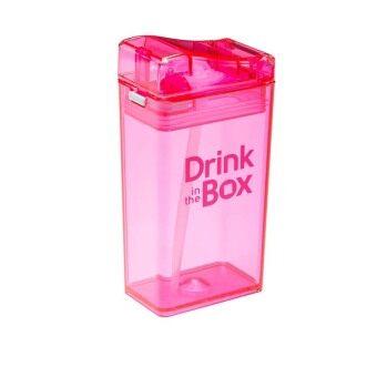 GRACE KIDS กระติกน้ำหัดดื่มสูญญากาศ Drink in the box (สีชมพู)