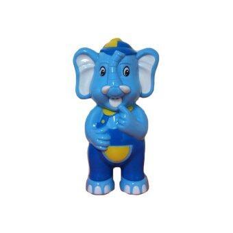 Toysplus น้องรักดี ช้างพูดได้ เล่านิทาน ร้องเพลง (สีฟ้า)