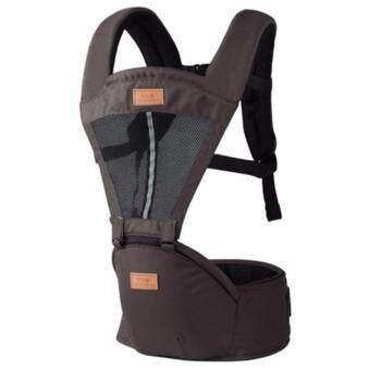 กาแฟ มัลติฟังก์ชั่ ระบายอากาศได้ ไหล่คู่ Baby Carrier ผู้ให้บริการทารก เอว เข็มขัด with เอว ม้านั่ง