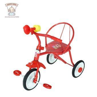 Thaiken รถจักรยานเด็กสามล้อ รุ่นโบราณ (สีแดง) 235
