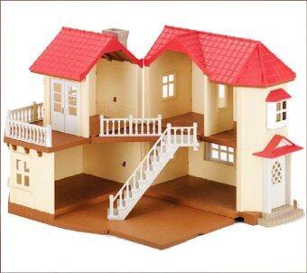 smartbabyandkid บ้านกระต่ายขาว 2 ชั้น สีครีม