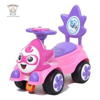 Thaiken รถขาไถ เชลดอน Baby Ride-on Car (สีชมพู)
