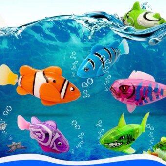 ปลาว่ายน้ำ Robo Fish ของเล่น Gadget สุดฮิต