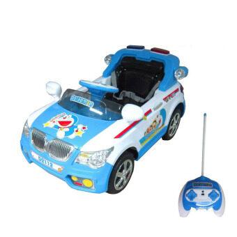 Toyzoner รถแบตเตอรี่เด็ก โดราเอม่อน - Blue