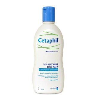 Cetaphil Restoraderm Skin Restoring Body Wash อาบน้ำ ผิวแห้ง แพ้ง่าย