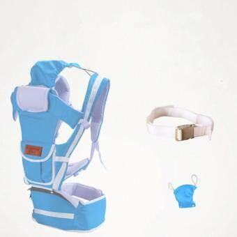 ท้องฟ้าสีคราม 10 ใน 1 มัลติฟังก์ชั่ ไหล่เดี่ยวและคู่ ผู้ให้บริการทารก Baby Carrier เอว เข็มขัด with เอว ม้านั่ง - intl