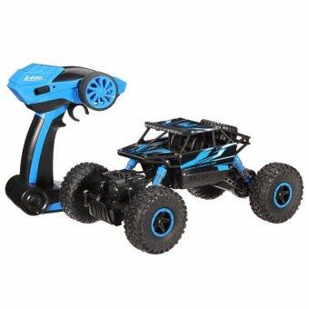 Harga Hitech รถไต่หิน Scale 1:18 Rock Crawler 4WD 2.4ghz (Blue)