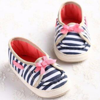 รองเท้าเด็กเล็ก รองเท้าเด็กหัดเดิน รองเท้าเด็กอ่อน รองเท้าเด็กพื้นผ้าลายทาง