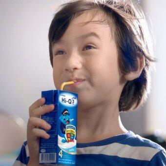 ขายยกลัง! Dumex Hi-Q 1+ นม UHT รสวานิลลา 180 มล. (36 กล่อง) (image 4)