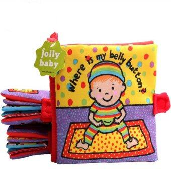 smartbabyandkid หนังสือผ้า Where is my belly bottom by Jolly baby