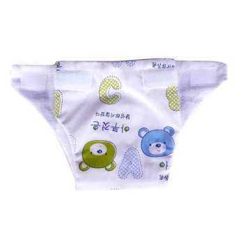 Baby heart กางเกงผ้าอ้อม รุ่นรวมลาย สำหรับเด็กแรกเกิด แพ็ค 6 ตัว (image 1)