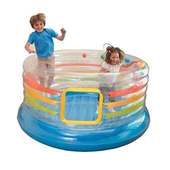 แทรมโพลีน - บ่อกระโดด สำหรับเด็ก - BABY TRAMPOLINES - JUMP-O-LENE TRANSPARENT RING BOUNCE (TRU-854428)