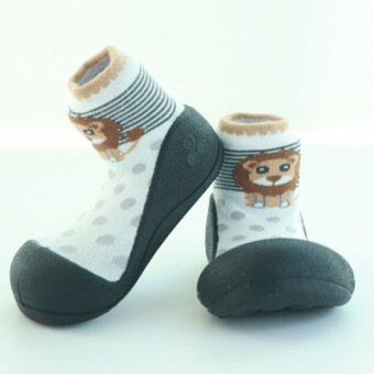 Attipas รองเท้าหัดเดิน รุ่น Zoo สีBlack Size S
