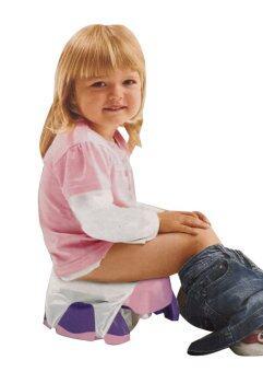 baby_kidsonline กระโถนเด็กแบบพกพา -สีชมพู