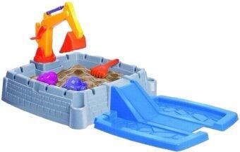 ThaiSmartShopping ของเล่น ชุดขุดทราย ( Sand Box ) - Blue
