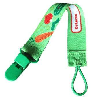 คลิปเด็กเล่นโซ่ยึดยอดคนหูเบาดร็อปต้านเข็มขัด (สีเขียว)