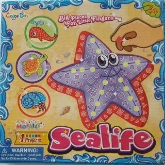 Baby Station ของเล่นเสริมทักษะ Mosaic Sticker ลายปลาดาว