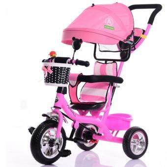 รถจักรยานสามล้อเด็ก สีชมพู