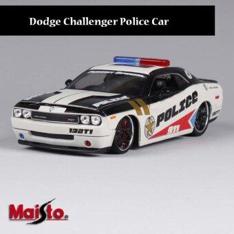 Harga 2011 Dodge Challenger Pursuit Police 1:24 Diecast Model Car - intl