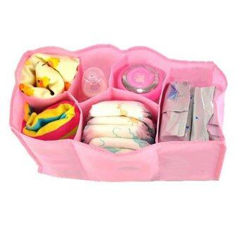 Harga Bluelans Mother Bag Large Travel Nappy Bag For Storage Baby Diaper Nappies Pink Size S