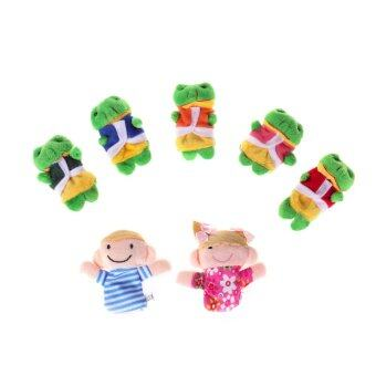 Harga Five Little Speckled Frogs Finger Toys for Baby