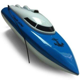 Babybearonline เรือบังคับวิทยุไฟฟ้า SPEED BOAT Heyuan 802 - น้ำเงิน