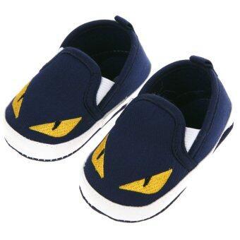 เด็กทารกเล็ก ๆ สีน้ำเงินเข้มรองเท้าด้านสัตว์ - Intl