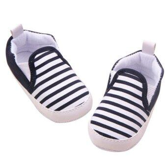 Harga Baby Fringe Soft Sole Crib Warm Walker Shoes - intl