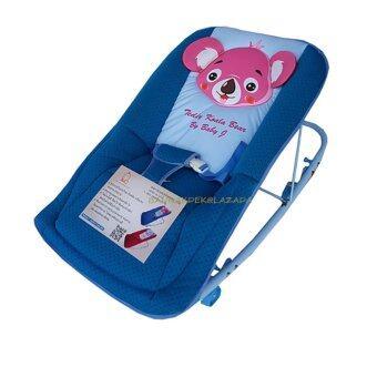 Baby Cradle เปลโยก รุ่น C232 ลายการ์ตูน Teddy Koala BearKoala Bear (สีน้ำเงิน)